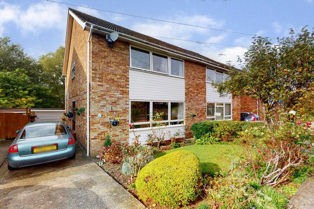 Semi-detached house for sale in Hitcham Road, Coggeshall