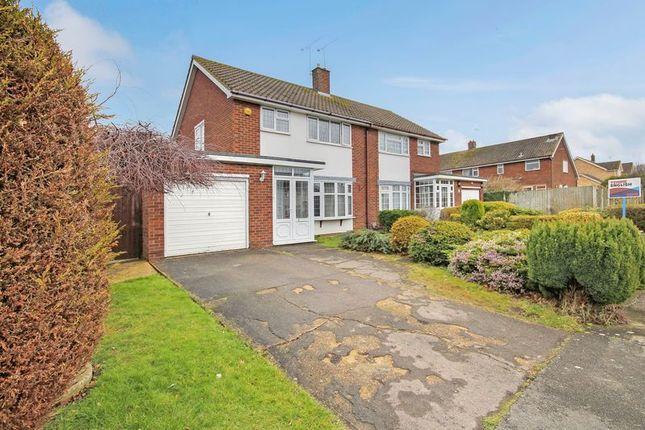 Thumbnail Semi-detached house for sale in Swallow Dale, Basildon