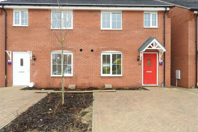 Thumbnail Semi-detached house to rent in Taunton Road, Bourne, Lincolnshire