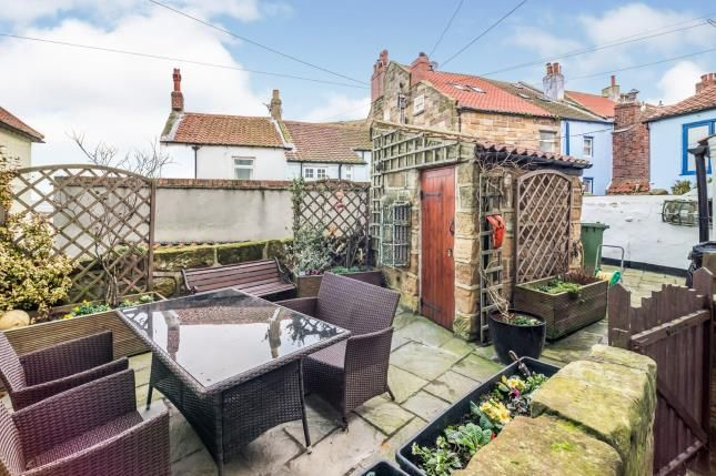Garden of 4 Slip Top, High Street, Staithes, Saltburn-By-The-Sea TS13