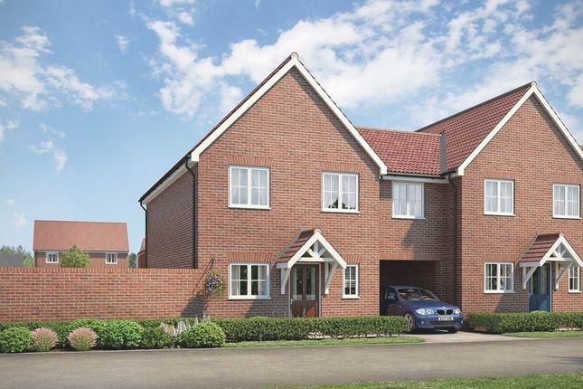 Thumbnail Semi-detached house for sale in Beaulieu Oaks, Regiment Gate, Off Essex Regiment Way, Chelmsford, Essex