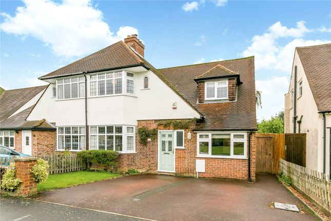 Thumbnail Semi-detached house for sale in Highfield Close, Amersham, Buckinghamshire