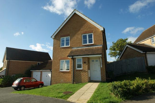 Thumbnail Detached house to rent in Lodge Wood Drive, Orchard Heights, Ashford