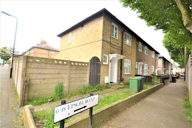 Thumbnail End terrace house for sale in Epsom Road, Leyton, London