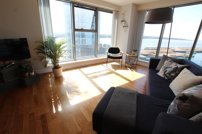 Thumbnail Flat for sale in Princes Dock, 1 William Jessop Way, Liverpool