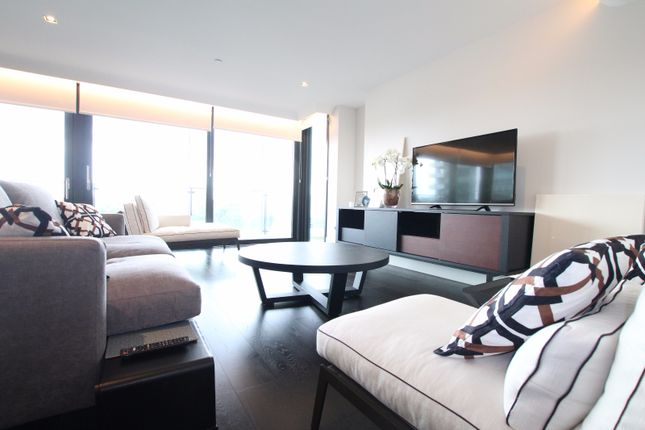 Thumbnail Flat to rent in Merano Residences, Albert Embankment, London