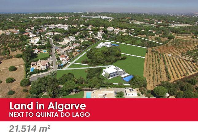 Land for sale in Valverde, Quinta Do Lago, Loulé, Central Algarve, Portugal