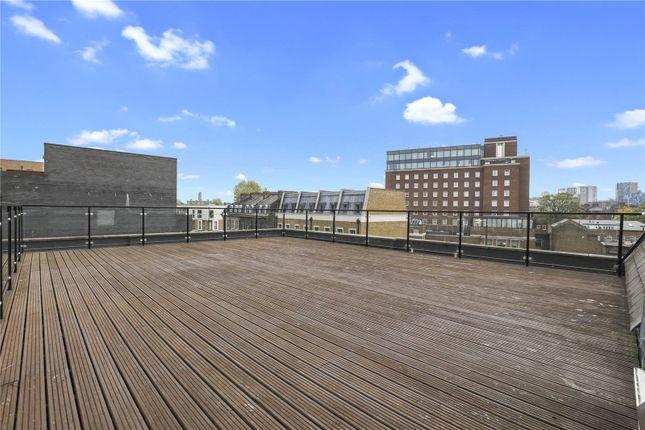 Communal Terrace of Benyamin House, 19 Greenwich High Road, London SE10