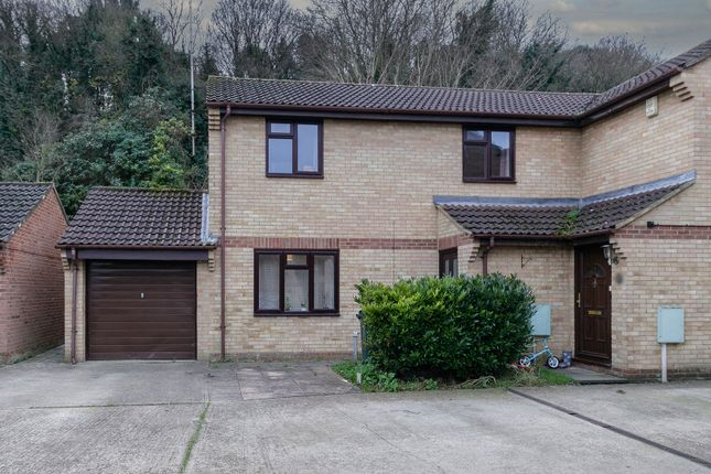 Thumbnail Semi-detached house for sale in Trivett Close, Greenhithe