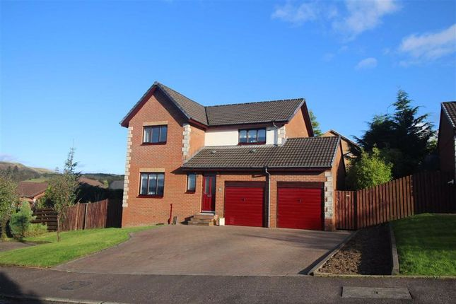 Thumbnail 4 bed detached house for sale in Sandend Place, Inverkip, Greenock