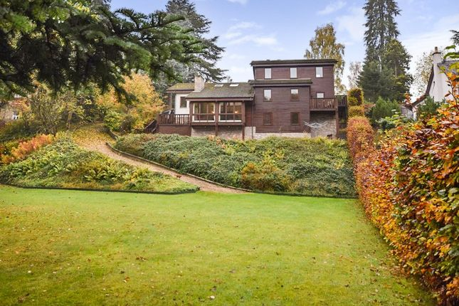 Thumbnail Detached house for sale in Cedar House, Balmoral Road, Rattray, Blairgowrie