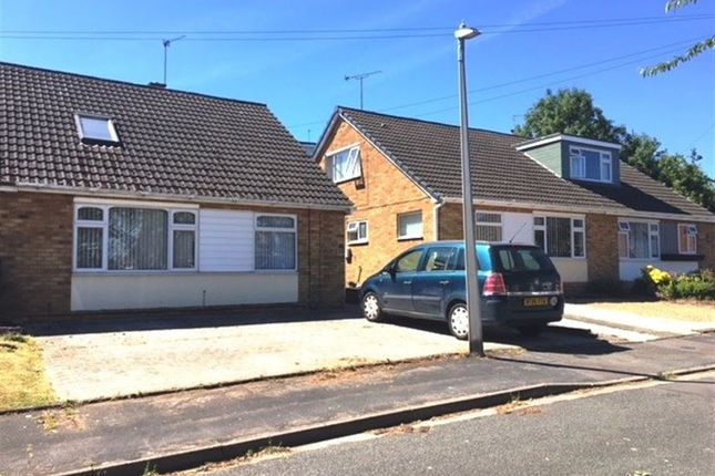 Thumbnail Bungalow to rent in Anson Close, Rugby