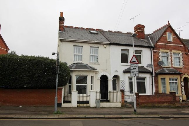 Thumbnail End terrace house for sale in Wantage Road, Reading