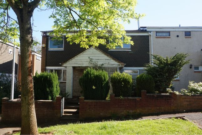 Thumbnail End terrace house for sale in Stebbings, Sutton Hill Telford