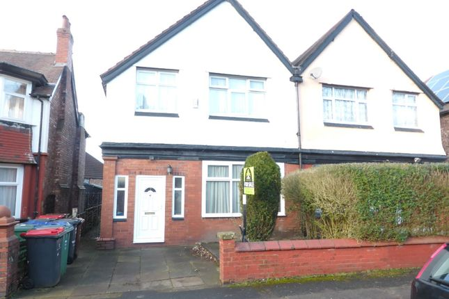 Thumbnail Semi-detached house to rent in Tewkesbury Drive, Prestwich, Manchester