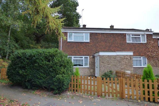 Thumbnail End terrace house for sale in Pinewood Park, Farnborough