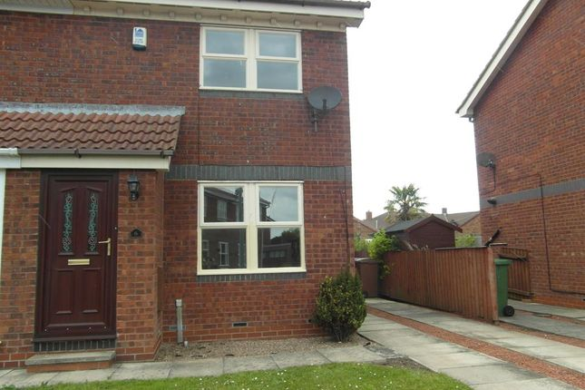 Thumbnail Semi-detached house to rent in Teal Garth, Bridlington
