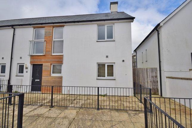 Thumbnail End terrace house to rent in Castle Hill Court, Cross Lane, Bodmin