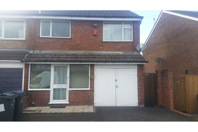Thumbnail Semi-detached house to rent in Pinewood Drive, Birmingham