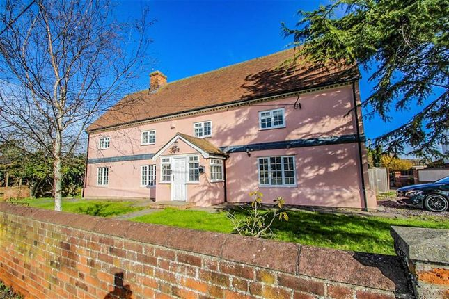 Thumbnail Detached house for sale in Colchester Road, Weeley, Clacton-On-Sea