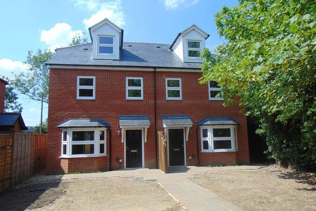 Thumbnail Semi-detached house for sale in Walsworth Road, Hitchin