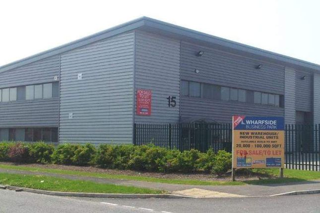 Thumbnail Light industrial to let in Unit 15, Wharfside Business Park, Northbank Industrial Park, Irlam, Lancashire