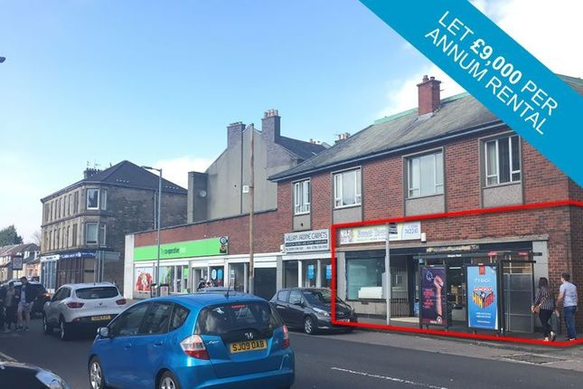 Thumbnail Commercial property for sale in 115, Glasgow Road, Dumbarton G821Rg