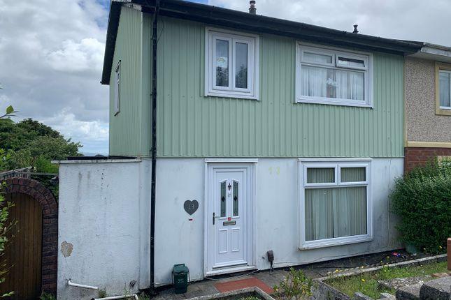 Thumbnail Semi-detached house to rent in Heol Trefor, Penlan, Swansea