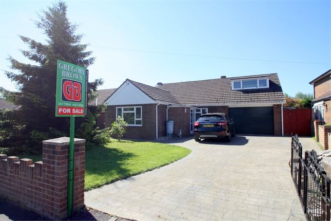 Thumbnail Detached bungalow for sale in Russet Close, Staines-Upon-Thames, Surrey