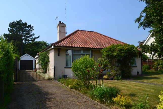 Thumbnail Detached bungalow to rent in High Road, Wortwell, Harleston, Norfolk