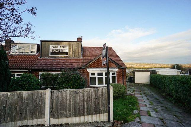 Thumbnail Semi-detached bungalow to rent in Hillside Avenue, Blackrod, Bolton