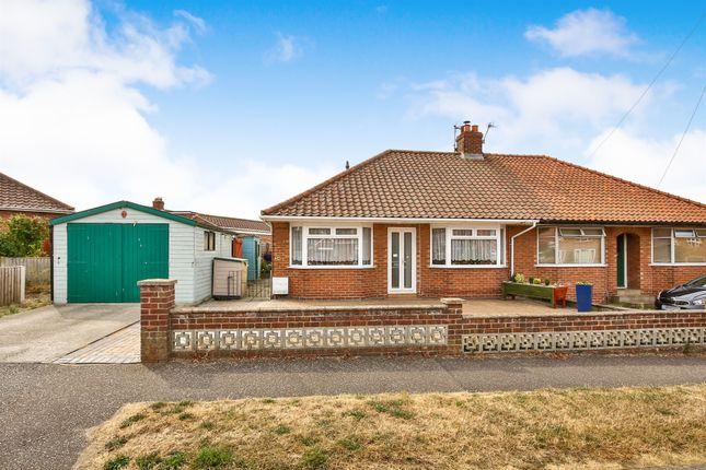 Thumbnail Semi-detached bungalow for sale in Samson Road, Hellesdon, Norwich