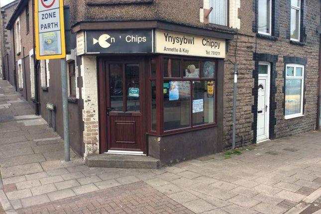 Thumbnail Retail premises for sale in High Street, Ynysybwl, Pontypridd