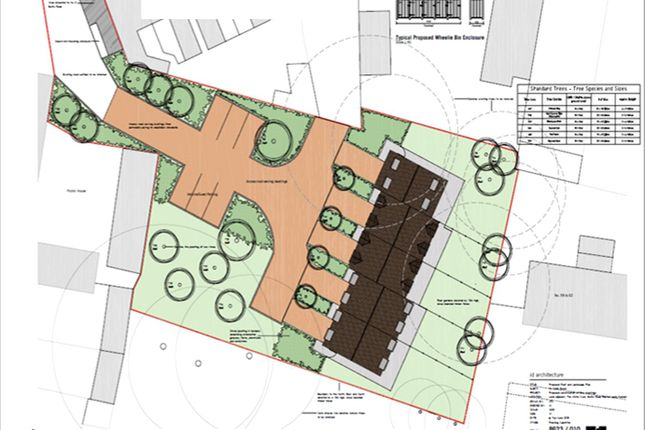 Site Plan of Butts Road, Barton-Upon-Humber, North Lincolnshire DN18