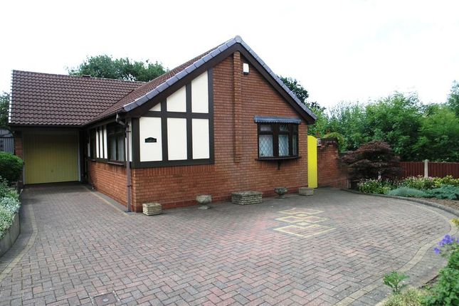 Thumbnail Detached bungalow for sale in Foxes Ridge, Cradley Heath