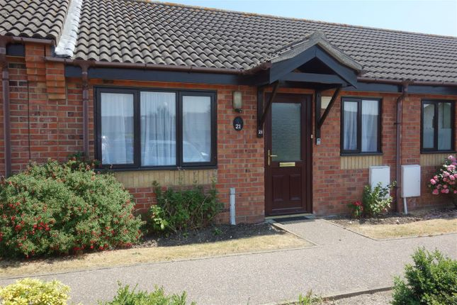 Thumbnail Terraced bungalow to rent in Herivan Close, Oulton, Lowestoft