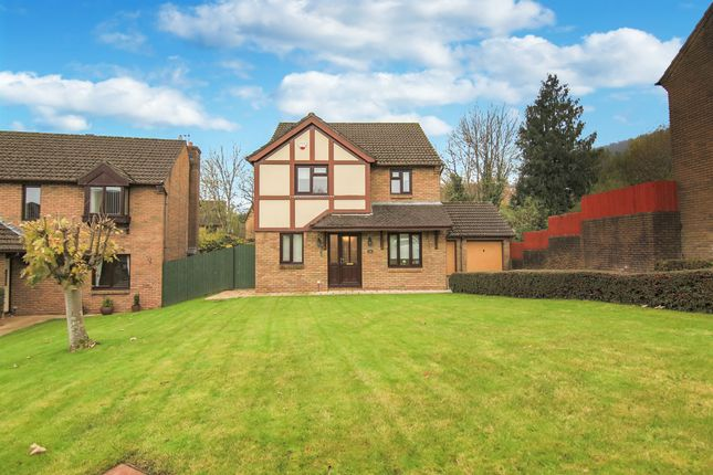 Thumbnail Detached house for sale in Longhouse Grove, Henllys, Cwmbran