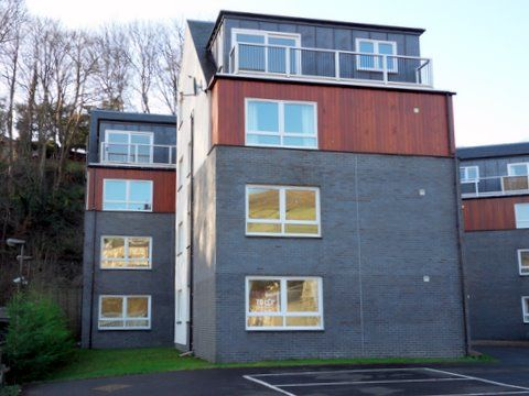 Thumbnail Flat to rent in Wilderhaugh Court, Galashiels, Borders