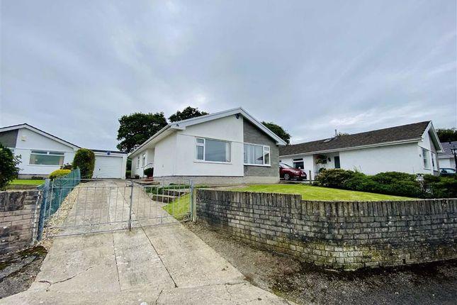 Thumbnail Detached bungalow for sale in Trem Y Mor, Llanmorlais, Swansea