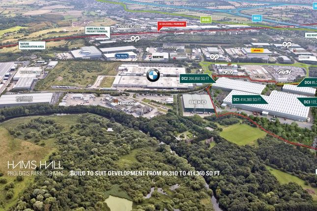 Industrial to let in Prologis Park Hams Hall, M42, Birmingham