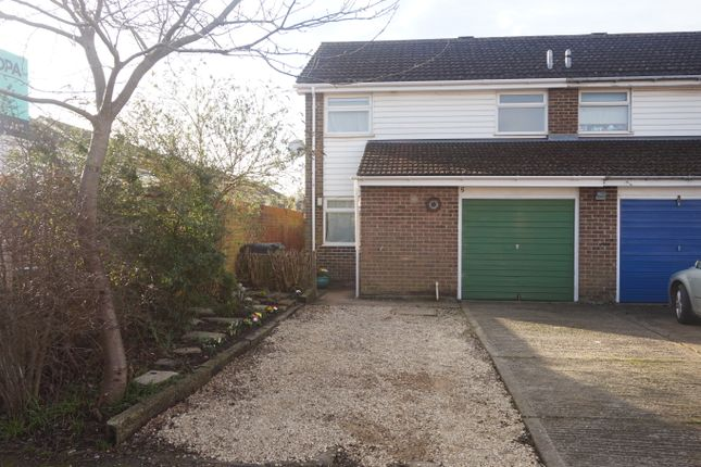 Thumbnail End terrace house for sale in Woodgate Close, Grove, Wantage