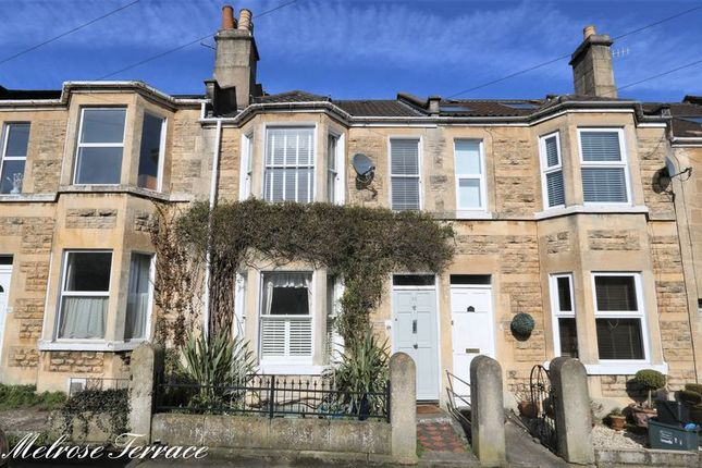 Thumbnail Terraced house for sale in Melrose Terrace, Fairfield Park, Bath