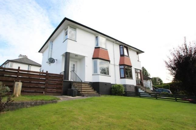 Thumbnail Semi-detached house for sale in Mearns Road, Clarkston, East Renfrewshire