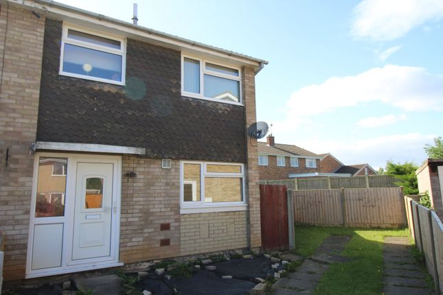 Thumbnail 3 bed semi-detached house for sale in Ashfield Close, Armthorpe, Doncaster, South Yorkshire