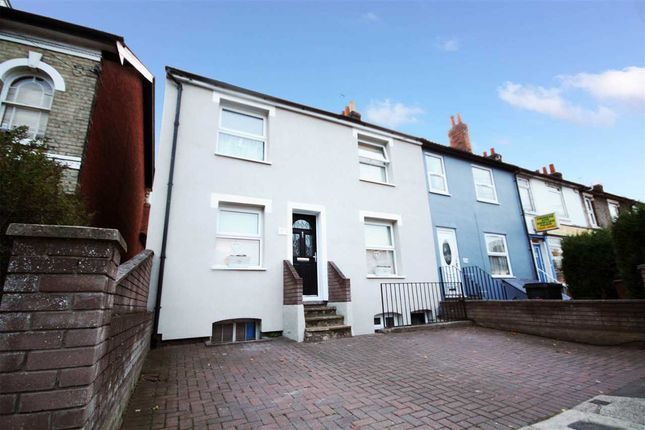 Thumbnail End terrace house for sale in Norwich Road, Ipswich