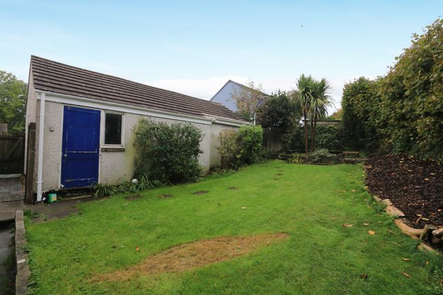 Back Of Property of Harveys Close, Chudleigh Knighton, Chudleigh, Newton Abbot TQ13