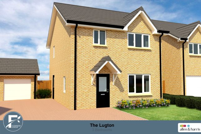 Thumbnail Detached house for sale in Irvine Road, Eglinton Meadows, Kilwinning