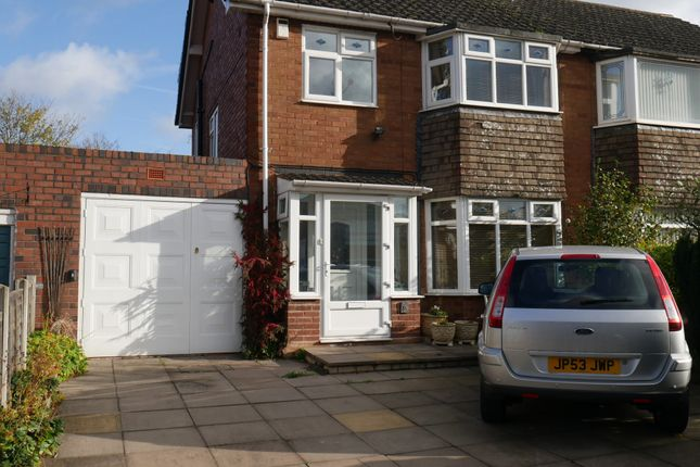 Thumbnail Semi-detached house for sale in Brownhills Road, Walsall Wood, Walsall, West Midlands