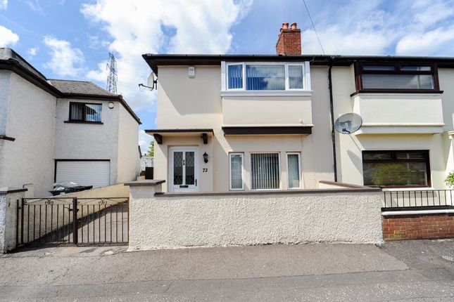 Thumbnail Semi-detached house for sale in Brandon Parade, Belfast