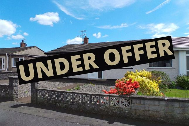Thumbnail Semi-detached bungalow for sale in St. Blanes Road, Heathhall, Dumfries